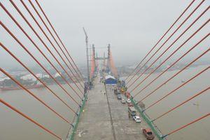 Ngày 31/8, khánh thành cầu Bạch Đằng nối liền Hải Phòng - Quảng Ninh