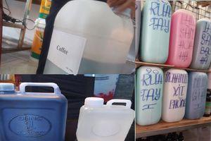 Hóa chất pha cà phê, sinh tố bán như rau ở chợ 'thần chết' Kim Biên