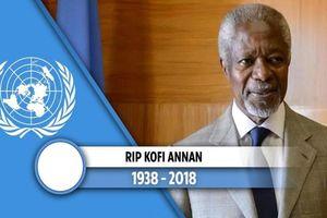 Cố Tổng thư ký LHQ Kofi Annan: 'Tôi nhận ra rằng nghỉ hưu là công việc rất vất vả'