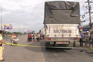 Va chạm giao thông, người phụ nữ tử vong dưới bánh xe tải