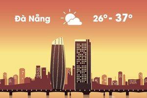 Thời tiết ngày 21/8: Đà Nẵng nóng 37 độ C, Sài Gòn mưa lớn