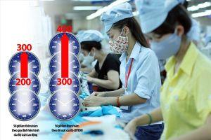 Đề xuất nâng thời gian làm thêm tối đa từ 300 lên 400 giờ/năm: Người lao động cực chẳng đã!