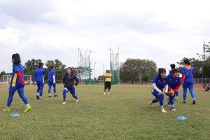 Đội tuyển nữ Việt Nam hừng hực khí thế, sẵn sàng đối đầu Nhật Bản