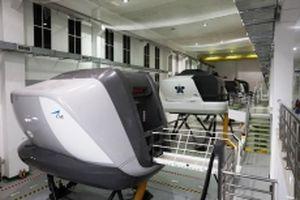 VNA khai thác Tổ hợp buồng lái mô phỏng máy bay đầu tiên