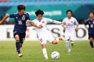 ASIAD 2018 Đội tuyển nữ Việt Nam thua 0-7: Nhật Bản quá mạnh!