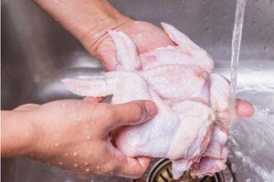 Có nên tin vào lời khuyên 'không rửa gà trước khi nấu sẽ tránh được việc lây lan vi khuẩn Campylobacter'?