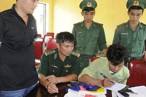 Vận chuyển 3.000 viên ma túy tổng hợp không qua mắt được bộ đội biên phòng
