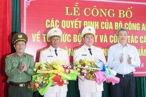 TP. Đà Nẵng có 2 Phó Giám đốc Công an mới