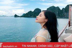 Vẻ đẹp rạng ngời của thí sinh Hà Tĩnh vào chung kết Hoa hậu Việt Nam