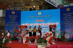 Tưng bừng Hội thi 'Nét đẹp văn hóa công sở' trong CNVCLĐ quận Long Biên