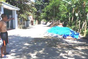 Thanh Hóa: Trộm đá granite bị truy đuổi, đâm đống cát tử vong