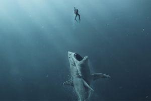 Hóa ra siêu cá mập khổng lồ trong phim 'The Meg' chỉ là sản phẩm của AI