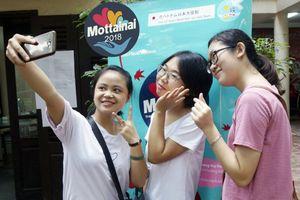 3 cô gái chung phòng trọ cùng trúng tuyển tình nguyện viên Mottainai 2018
