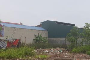 Phú Xuyên - Hà Nội: Có dấu hiệu bao che cho công trình xây dựng trái phép trên đất nông nghiệp?