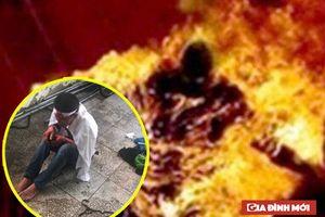 Hai cháu bé bị bố dượng tẩm xăng đốt đã tử vong