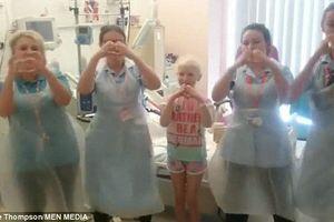 Bé gái 8 tuổi sống lạc quan điều trị bệnh ung thư nhờ điệu nhảy Kiki