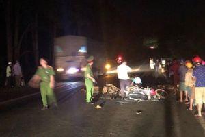 Xe máy tông nhau, 2 thanh niên tử vong tại chỗ