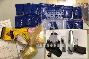 Chân dung 'người vận chuyển' mang súng K59 đi áp tải ma túy từ Nghệ An về Hà Nội