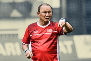 HLV Park Hang-Seo tự tin cho Olympic Việt Nam tập mở