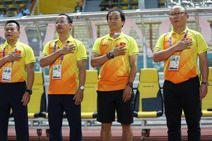 Dưới thời HLV Park Hang-seo, bóng đá Việt Nam chưa thua trước các đội Tây Á