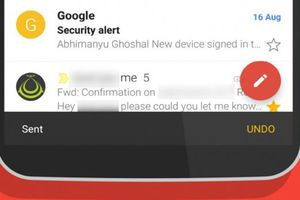 Gmail trên Android cho phép thu hồi email đã gửi