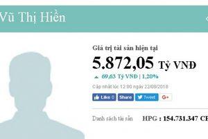 Nữ đại gia Vũ Thị Hiền sở hữu gần 6 nghìn tỷ, giàu thứ 9 ở Việt Nam là ai?
