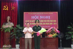 Thanh Chương thưởng nóng Đồn Biên phòng Cửa khẩu Thanh Thủy
