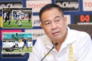 Chủ tịch LĐBĐ Thái Lan ví thất bại của đội Olympic như tuyển Đức ở World Cup