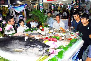 Khai mạc Hội chợ Triển lãm quốc tế thủy sản Việt Nam 2018