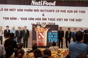 NutiFood ra mắt sản phẩm cà phê sữa đá tươi