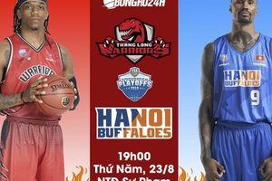 VBA 2018 Playoffs Game 1 - Thang Long Warriors - Hanoi Buffaloes (23/8) - Kỳ phùng địch thủ, derby Hà Thành tiếp tục