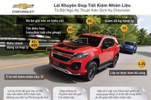 Kinh nghiệm tiết kiệm nhiên liệu xe ô tô từ chuyên gia Chevrolet