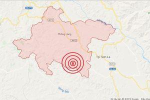 Động đất 3,9 độ Richter tại Thuận Châu, Sơn La