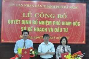 Công bố kết quả thi tuyển và bổ nhiệm lãnh đạo Sở Kế hoạch và Đầu tư Đà Nẵng