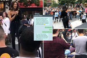 Đỉnh cao của 'thả thính': Gái xinh lừa hàng trăm chàng trai tới cùng một chỗ hẹn