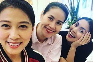 Sau khi Phạm Anh Khoa comeback, bà xã cũng khoe ảnh tươi như hoa bên Tăng Thanh Hà