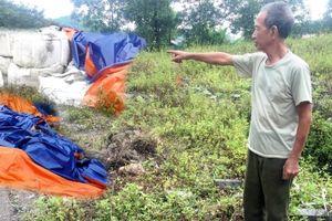 Thái Nguyên: Người dân vẫn lo lắng vì hàng trăm tấn chất thải nguy hại