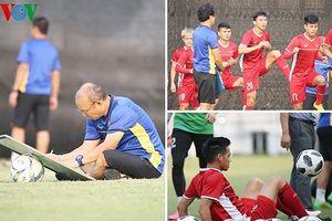 Olympic Việt Nam miệt mài tập luyện, HLV Park đau đầu giải mã Bahrain