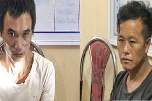 Bắt hai kẻ buôn ma túy có súng ở điểm nóng Lóng Luông