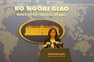 Việt Nam yêu cầu Đài Loan ngừng diễn tập bắn đạn thật ở Trường Sa