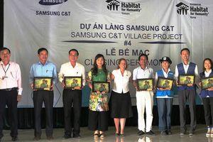Làng Samsung C-T trên đất Hà Tĩnh