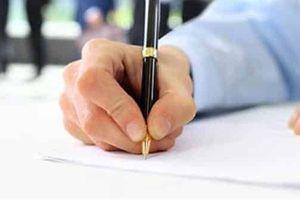 Chữ ký không thống nhất, hồ sơ có được chấp nhận?