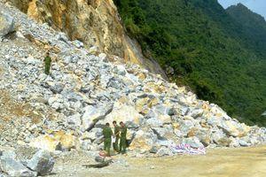 Nổ mìn phá đá làm đường, 3 công nhân thiệt mạng
