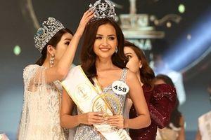Hé lộ thông tin về người đẹp vừa đăng quang Hoa hậu Siêu quốc gia Việt Nam