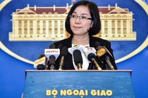 Việt Nam yêu cầu chấm dứt diễn tập bắn đạn thật gần Ba Bình