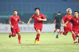 Olympic Việt Nam 1-0 Olympic Bahrain: Công Phượng lập công