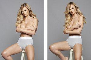 'Phát sốt' với ảnh bán nude của 'quả đào tiên' hoàn hảo Rhian Sugden