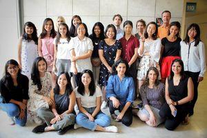 Ba bóng hồng 9X Việt trải nghiệm khóa học Smart Cities tại Israel