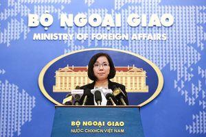 Việt Nam phản đối việc Đài Loan bắn đạn thật tại Trường Sa