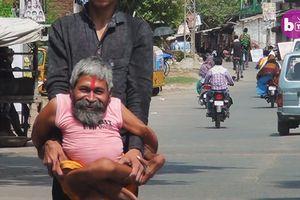 Vị thần sống 'uốn dẻo' được người người kính ngưỡng ở Ấn Độ